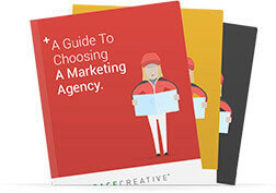 eBook titled A Guide To Choosing A Marketing Agency