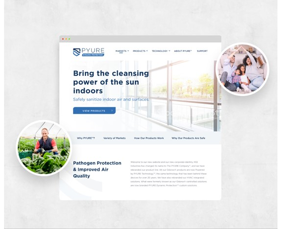 web design trend creative and meaningful use of image